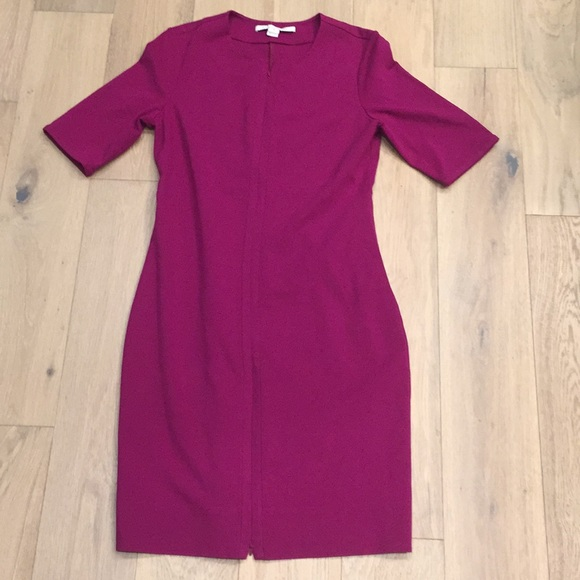 Diane Von Furstenberg Dresses & Skirts - Diane von furstenberg dress size 12 zippers